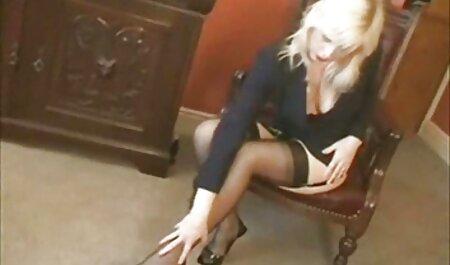 Belle, blonde, et les hommes en noir, chaud, noir et film porno avec des chinoises blanc sexe